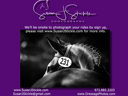 Dressage - Getting a good turn out!  Closing date extended to 4/17/21