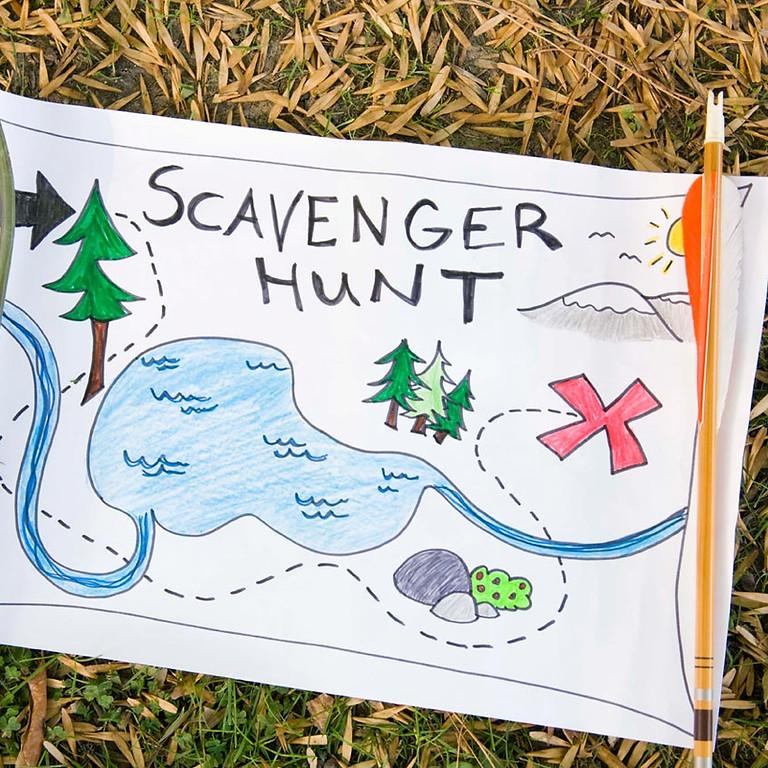Walk Your Block: Monthly Scavenger Hunt