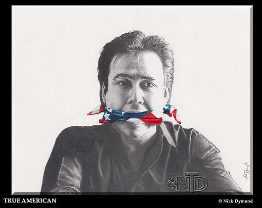 "True American   8""x10"" Print"