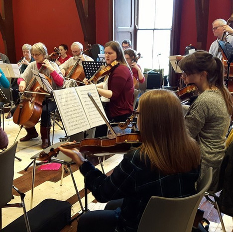 Rehearsal at Castletown House