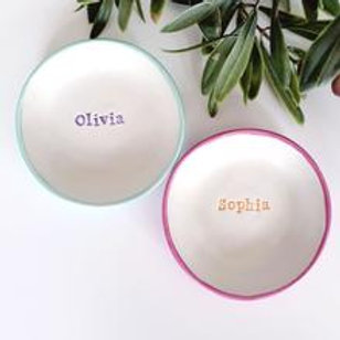 Personalised name dish - Little Wisteria