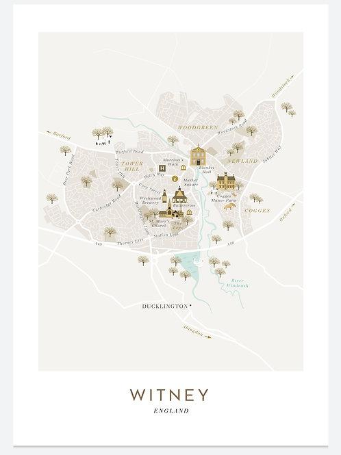 Witney Print Framed - Bluetiful