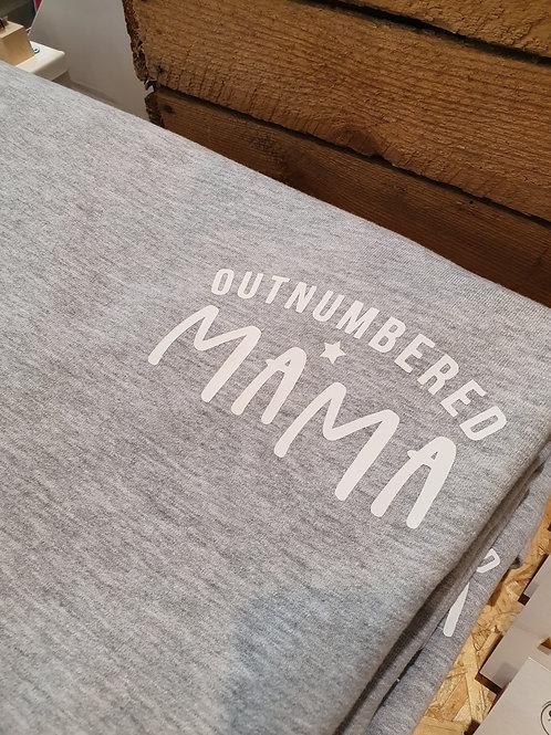 Outnumbered Mama sweatshirt