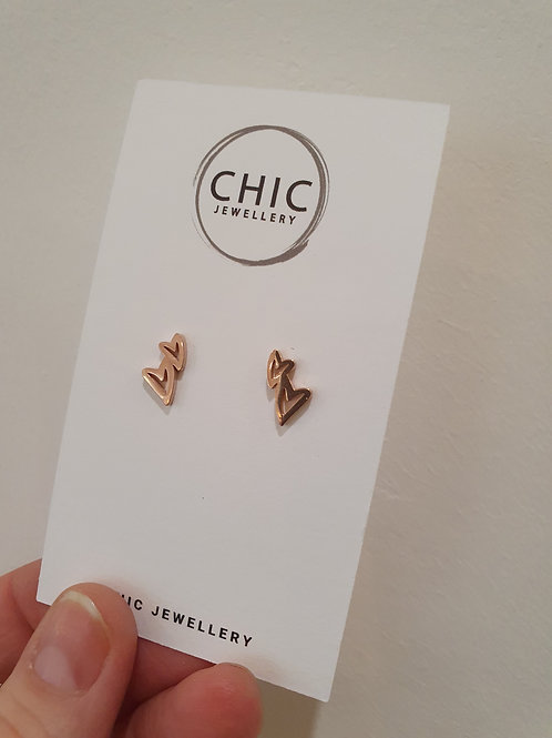 Heart Earrings - Chic