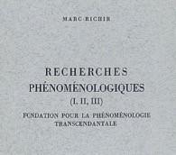 Le labyrinthe de la phénoménalité. Approche des Recherches phénoménologiques.