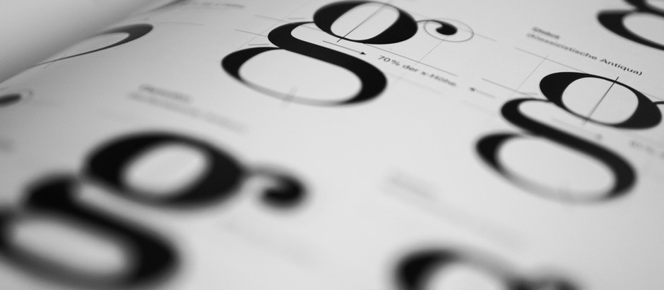 Why Typography is important in branding (part 1 of 2)