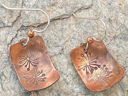 Copper Celebration Earrings