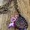 Thumbnail: Raku Clay abd Textured Chaun Necklace