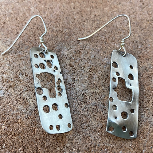 Sterling Silver Holy Moly Earring
