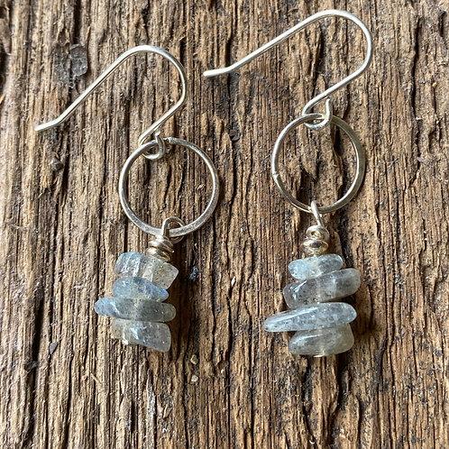 Sterling silver and Labradorite gemstones