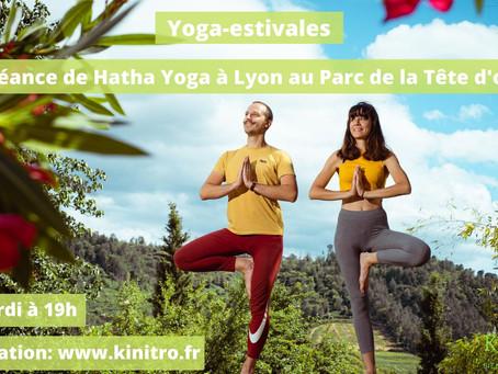 Séances de Hatha Yoga au Parc à Lyon