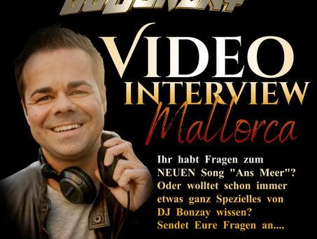 VIDEO INTERVIEW AUF MALLORCA