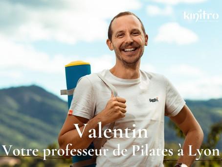 Valentin, votre professeur de Pilates à Lyon