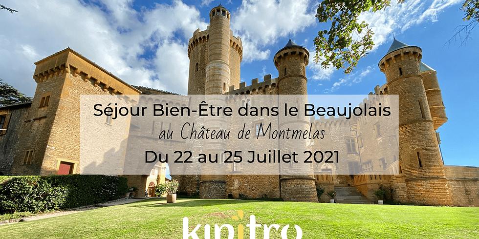 Séjour bien-être au Château de Montmelas