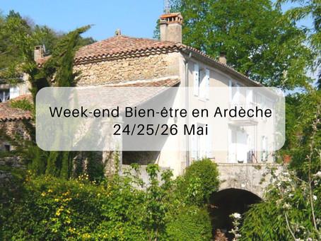 Week-end bien-être en Ardèche