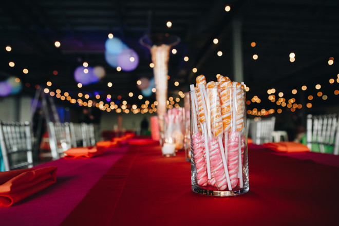 Candy Theme Centerpiece