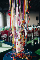 Candy Themed Hanging Treatment