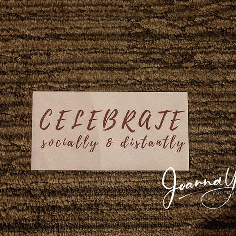 celebrating socially & distantly