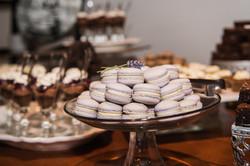 Lavender Macarons