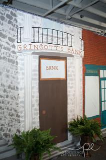 Harry Potter theme Bat Mitzvah celebration Diagon Alley Gringotts bank.jpg