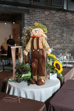 Scarecrow Themed Centerpiece