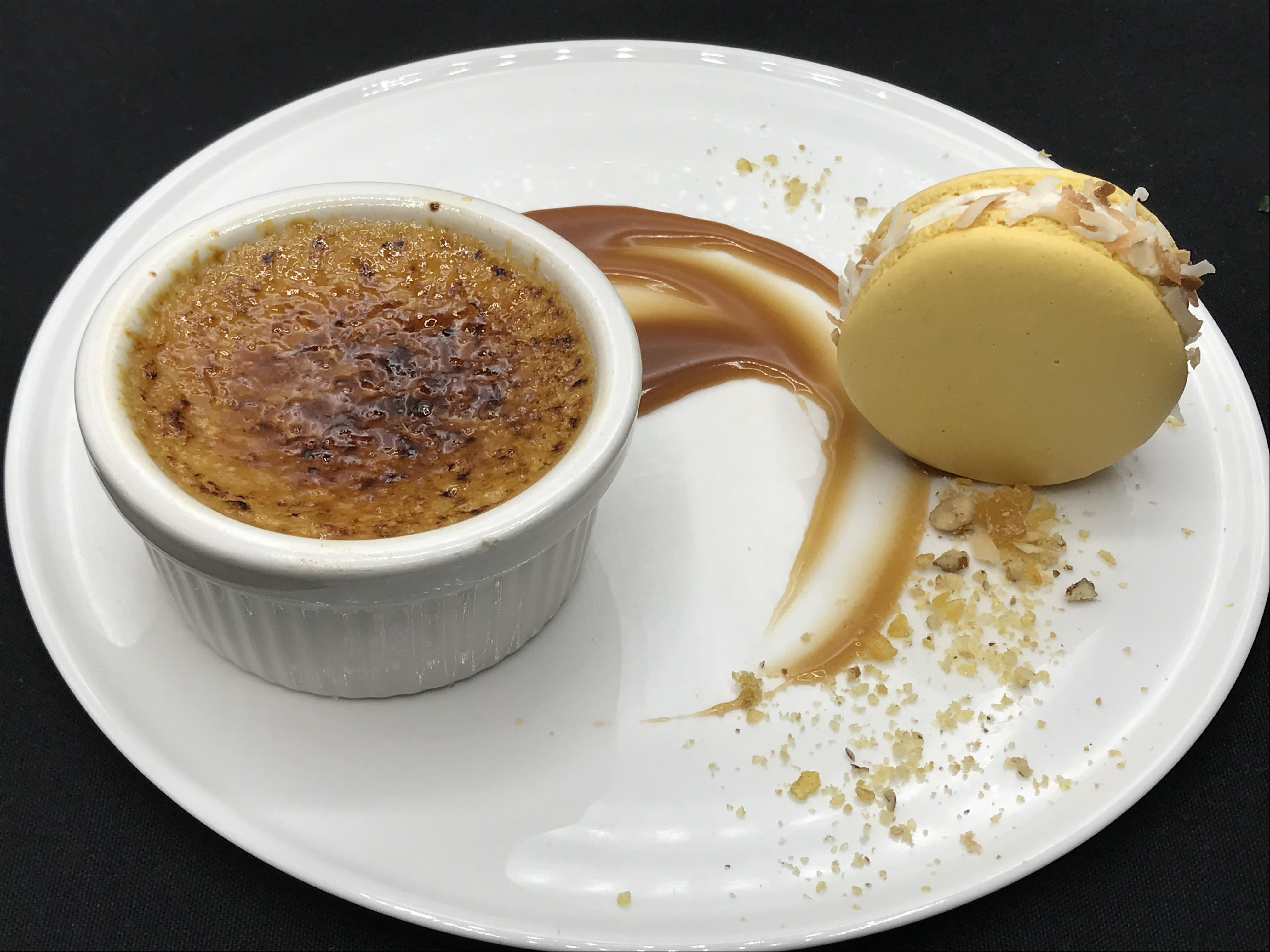 Creme Brulee & Macaron