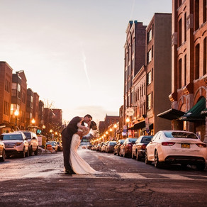 Max and Abi's Industrial Winter Wedding
