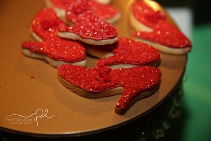 Red Slipper Sugar Cookies