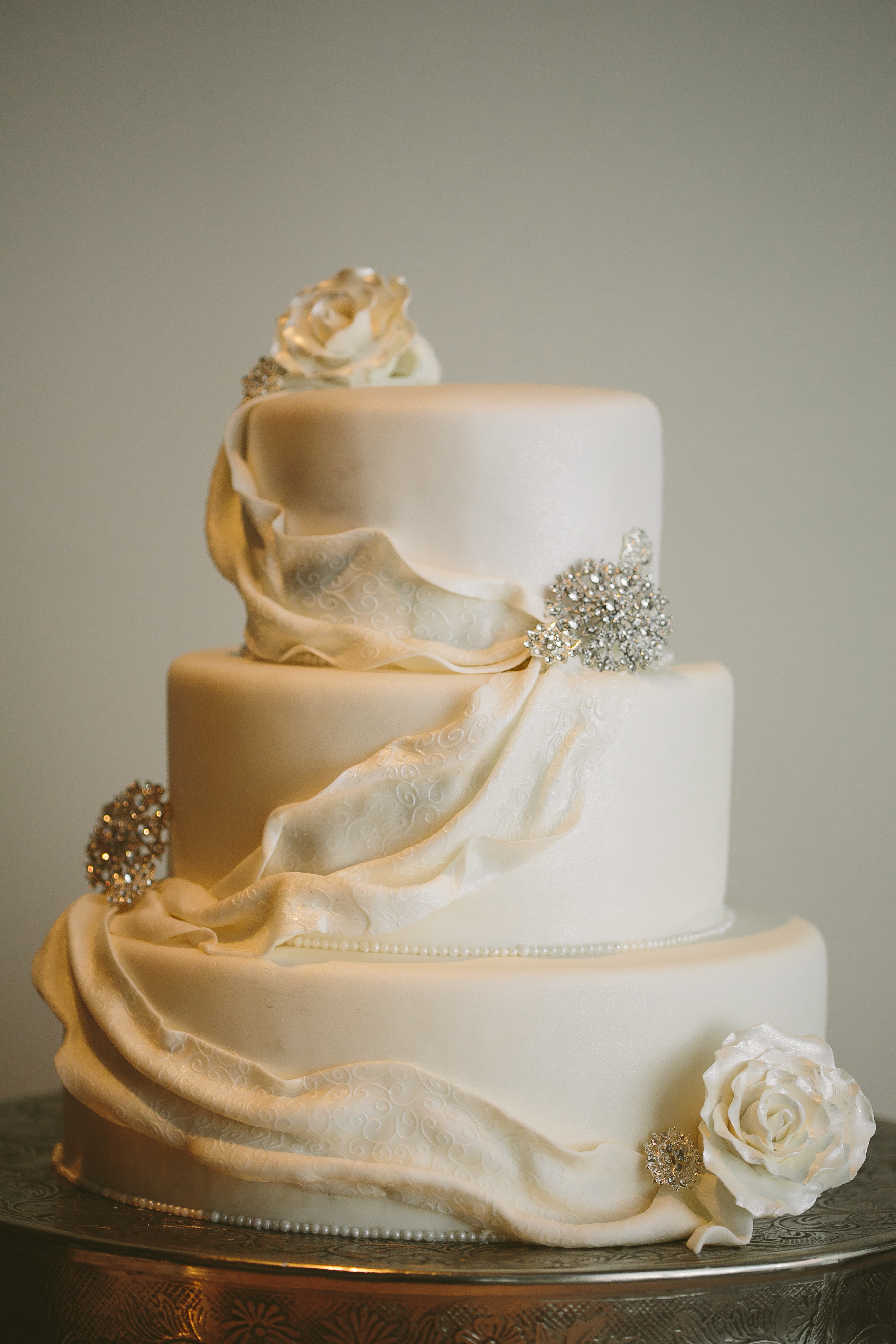 Fondant with Draping