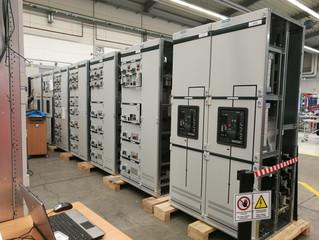 Выезд для отбора образцов распределительных щитов низкого напряжения производства Siemens AG. Герман