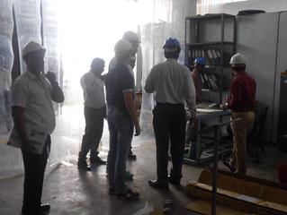 Посещение завода по производству металлобрабатывающих станков. Индия.