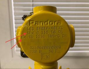 Пример маркировки Ex