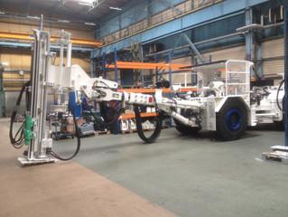Выезд на завод изготовителя подземных анкерных самоходных установок для анализа состояния производст