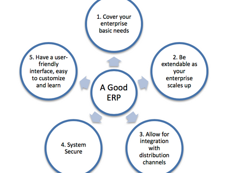 THE IMPORTANCE OF ENTERPRISE RESOURCE PLANNING (ERP)