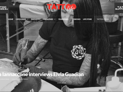 Interview for TATTOO LIFE magazine