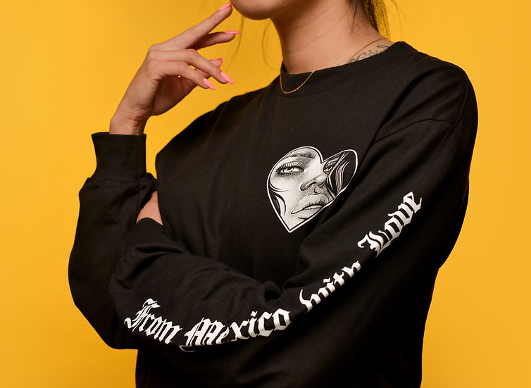 From Mexico with Love Longsleeve tee