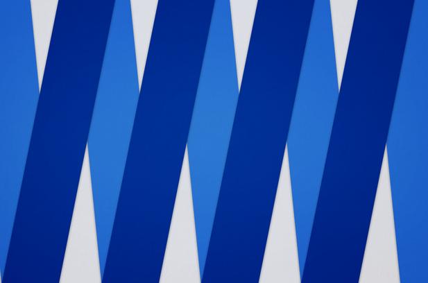 Blue Paper Composition no.6