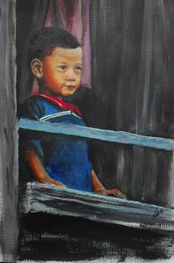 jongetje azie