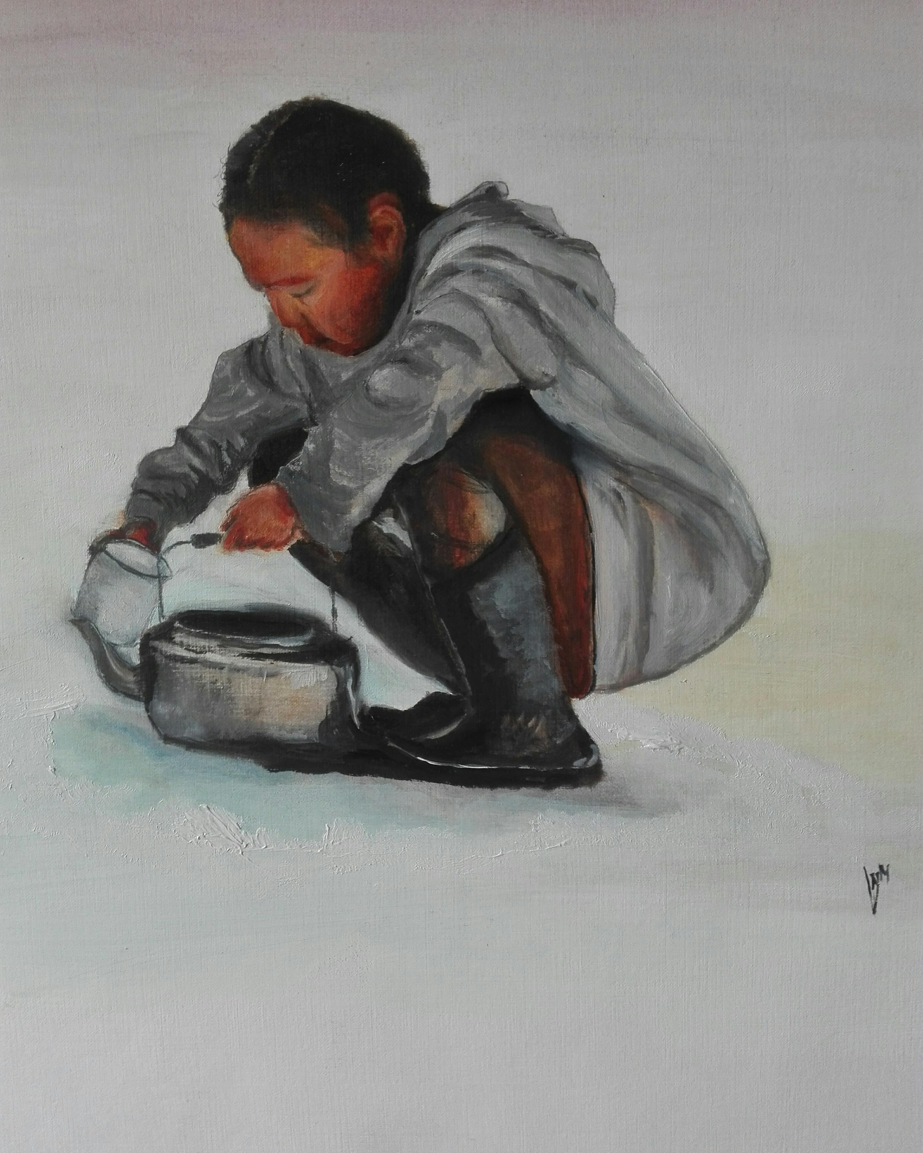 inuit meisje