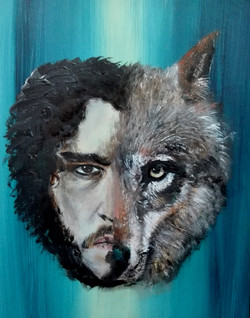 john snow/wolf
