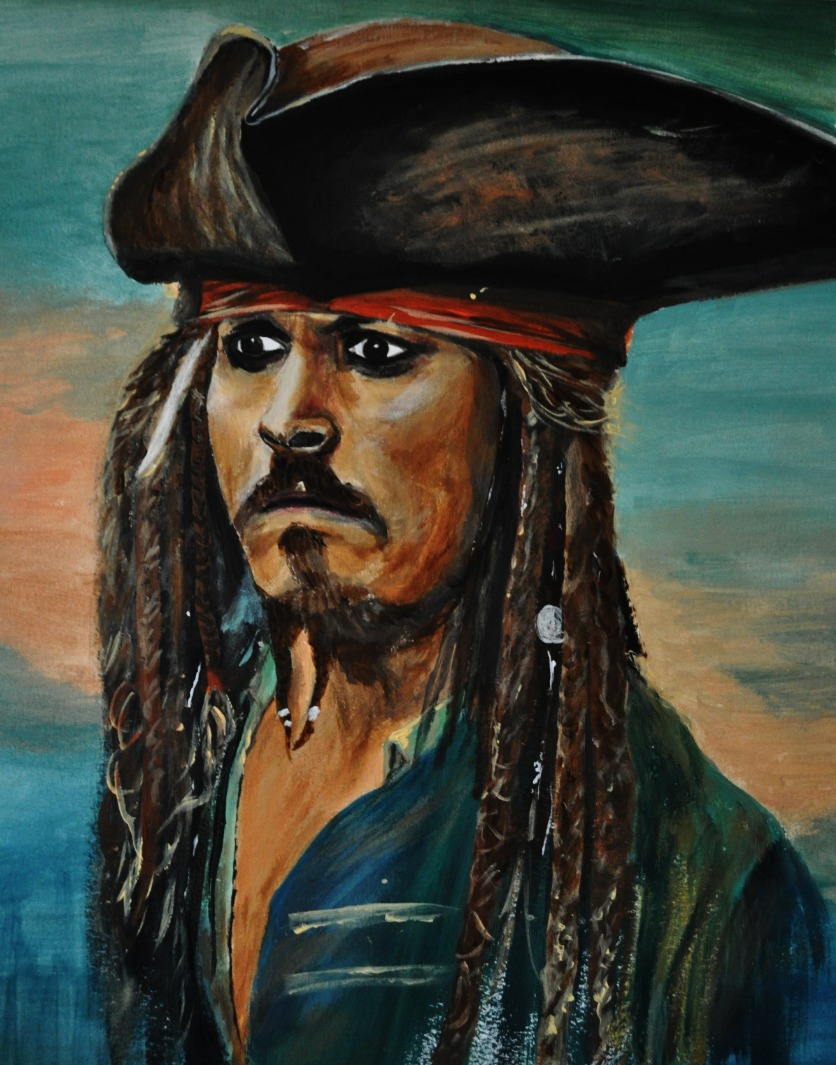 Jack Sparrow, Johnny Depp