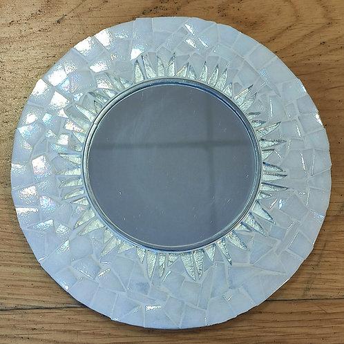 Miroir rond en mosaïque MOON