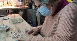 Atelier mosaïque Françoise