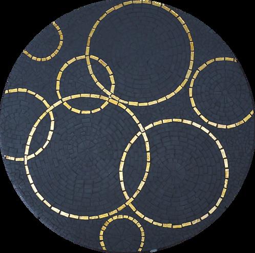 Table en mosaïque // Pièce UNIQUE