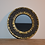 Thumbnail: Miroir rond en mosaïque