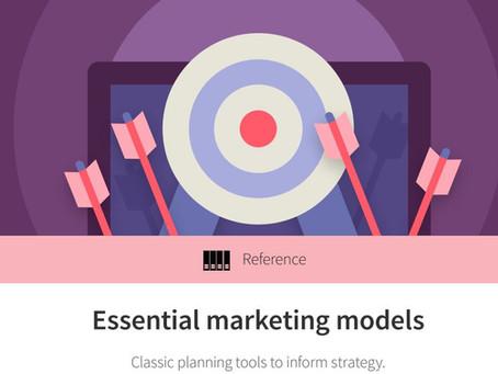 Essential marketing models รวมสุดยอดโมเดลคลาสสิค สำหรับวางแผนกลยุทธ์การตลาด