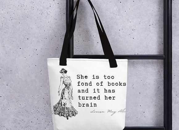 Louisa May Alcott - Tote bag