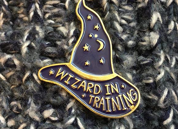 Wizard in Training Enamel Pin
