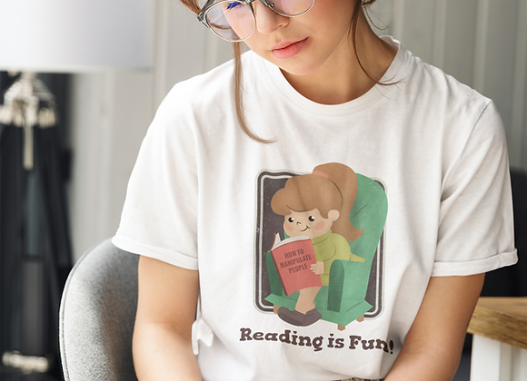 Reading is Fun! Short-Sleeve Unisex T-Shirt