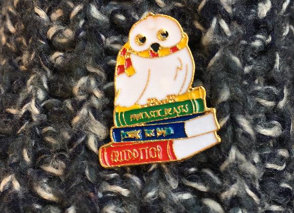 Hedwig Enamel Pin